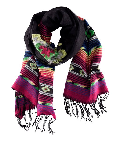 Scarf in black, $17.95 at hm.com