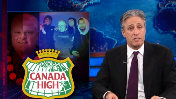 'The Daily Show' Reveals Canada's Crack Pastime