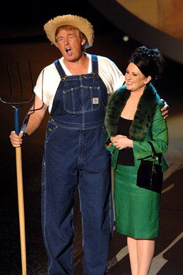 Donald Trump and Megan Mullally performing &quot;Green Acres&quot;