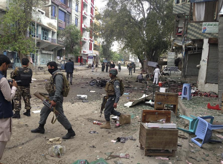 Afghan suicide bombing blamed on Islamic State kills 35