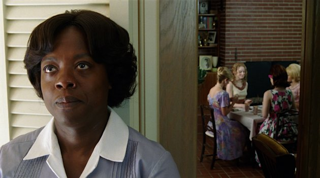 In this film publicity image released by Disney, Viola Davis is shown in a scene from &quot;The Help.&quot; (AP Photo/Disney, Dale Robinette)