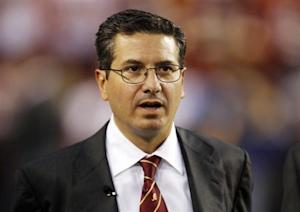 Washington Redskins team owner Dan Snyder is pictured before the Washington Redskins vs Dallas Cowboys NFL football game in Landover