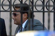 Costa Concordia's captain Francesco Schettino arrives at a pre-trial hearing into the Costa Concordia disaster on October 16 in Grosseto. Experts on Friday refuted claims by Schettino that he saved lives on the night of the Costa Concondia shipwreck, as pre-trial hearings into the disaster were set to wind up