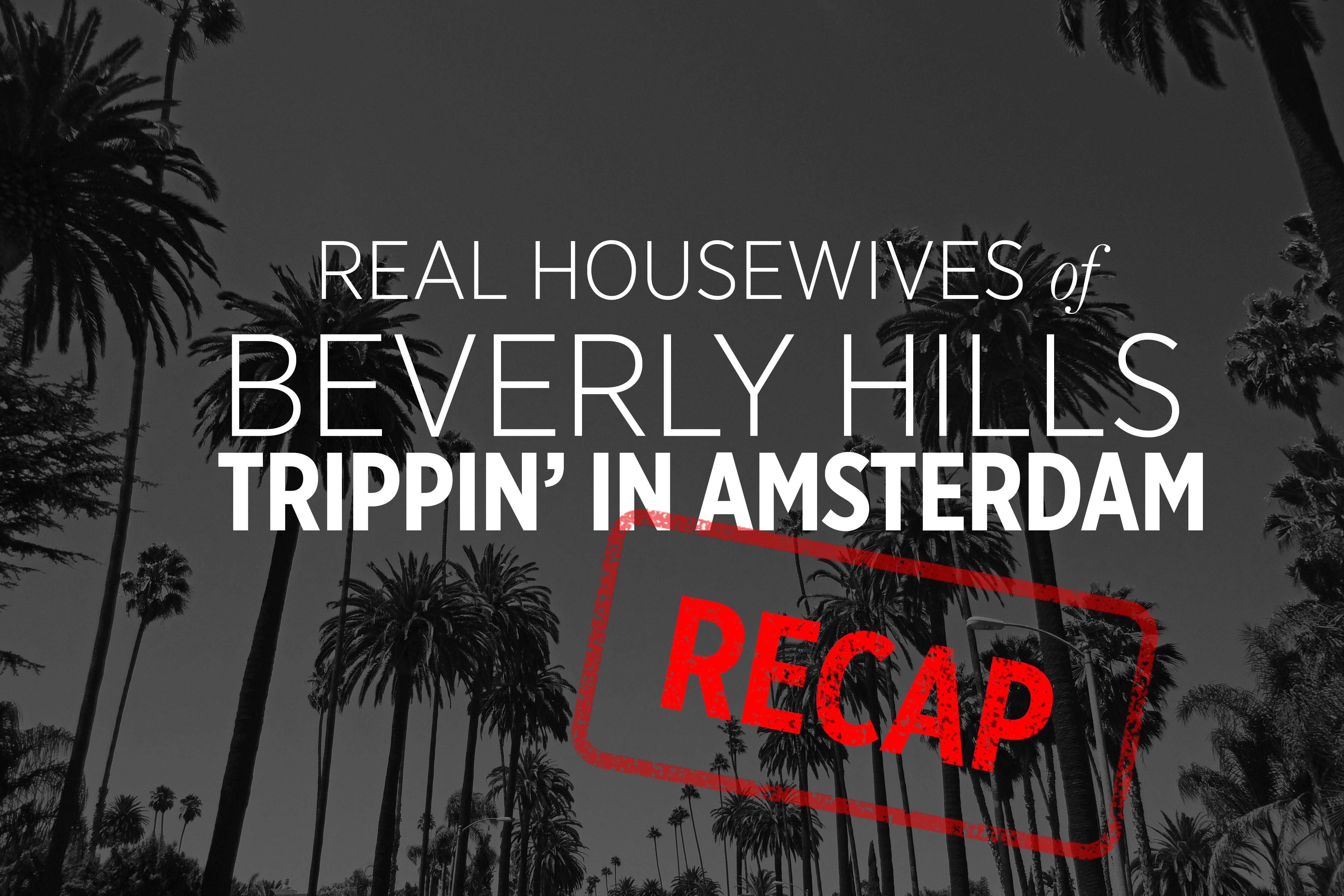 Real Housewives of Beverly Hills Recap: Trippin' in Amsterdam