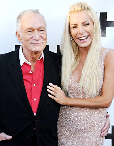 Hugh Hefner Marries Crystal Harris