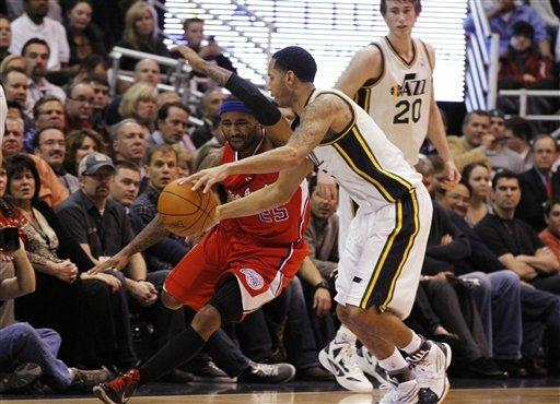 Paul, Griffin lead Clippers past Jazz, 107-105