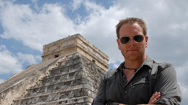 "Josh Gates hosts ""Destination Truth"""
