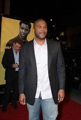 Tyler Perry at the Los Angeles premiere of Weinstein Companys' The Great Debaters