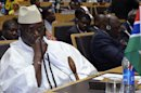 Gambia's President Jammeh attends leaders meeting at the African Union in Addis Ababa