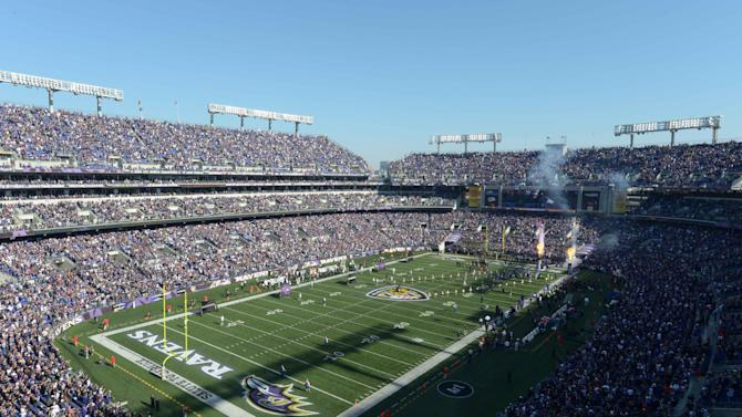 NFL: Oakland Raiders at Baltimore Ravens