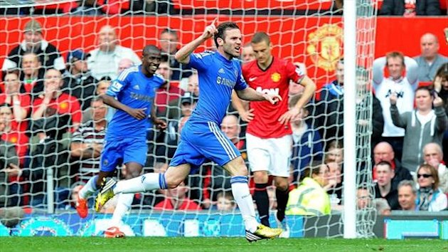 Juan Mata scored the winner against Manchester United