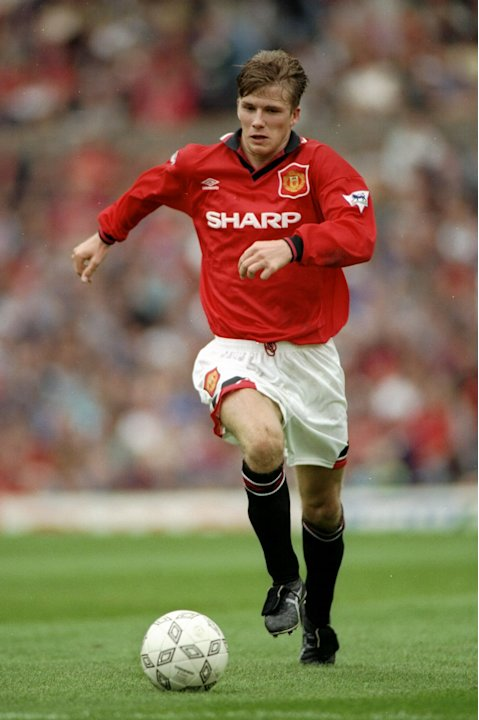 David Beckham of Manchester United