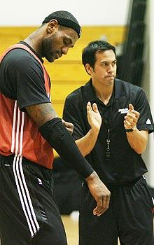 King James wants Spoelstra to bow to him