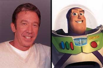 Tim Allen as the voice of Buzz Lightyear in Disney's Toy Story 2