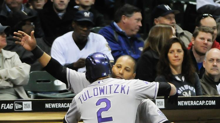 MLB: Colorado Rockies at Milwaukee Brewers