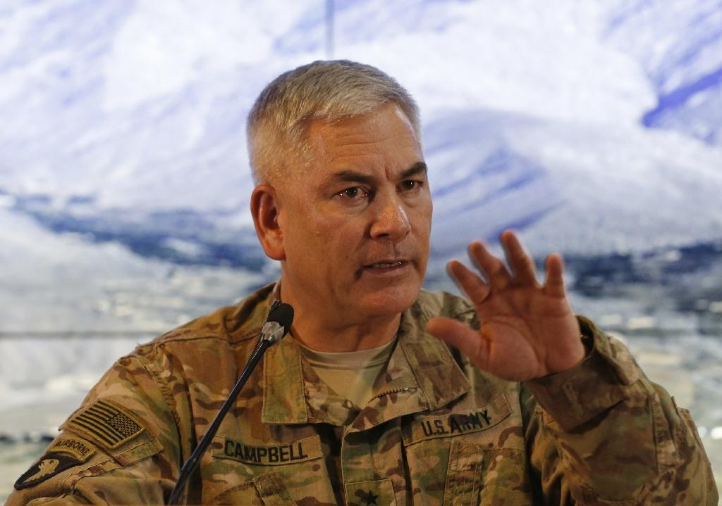 US general bullish on Afghanistan as he confirms retirement