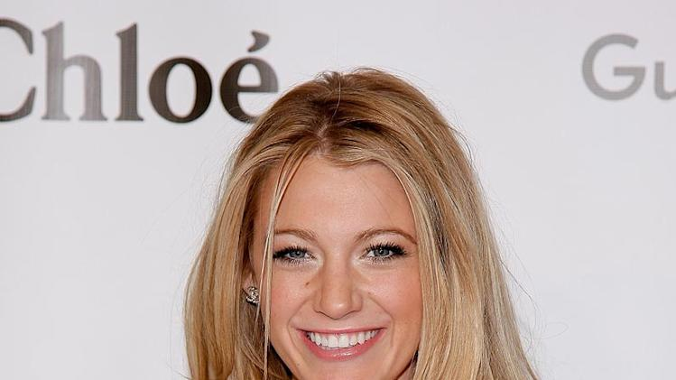 Blake Lively arrives at The Annual Solomon R Guggenheim Young Collectors Council Art Show sponsored by Chloe at the Solomon R Guggenheim Museum. -  December 13, 2007