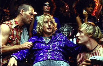 Owen Wilson as Hansel with his flunkies in Paramount's Zoolander