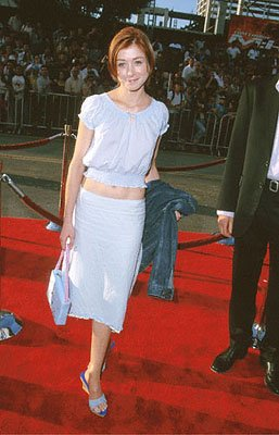 Premiere: Alyson Hannigan at The Chinese Theater premiere of Paramount's Mission Impossible 2 - 5/18/2000