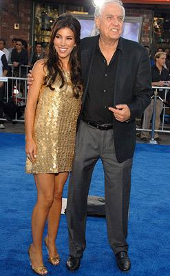 Garry Marshall and Adrianna Costa at the Los Angeles premiere of DreamWorks/Paramount Pictures' Transformers