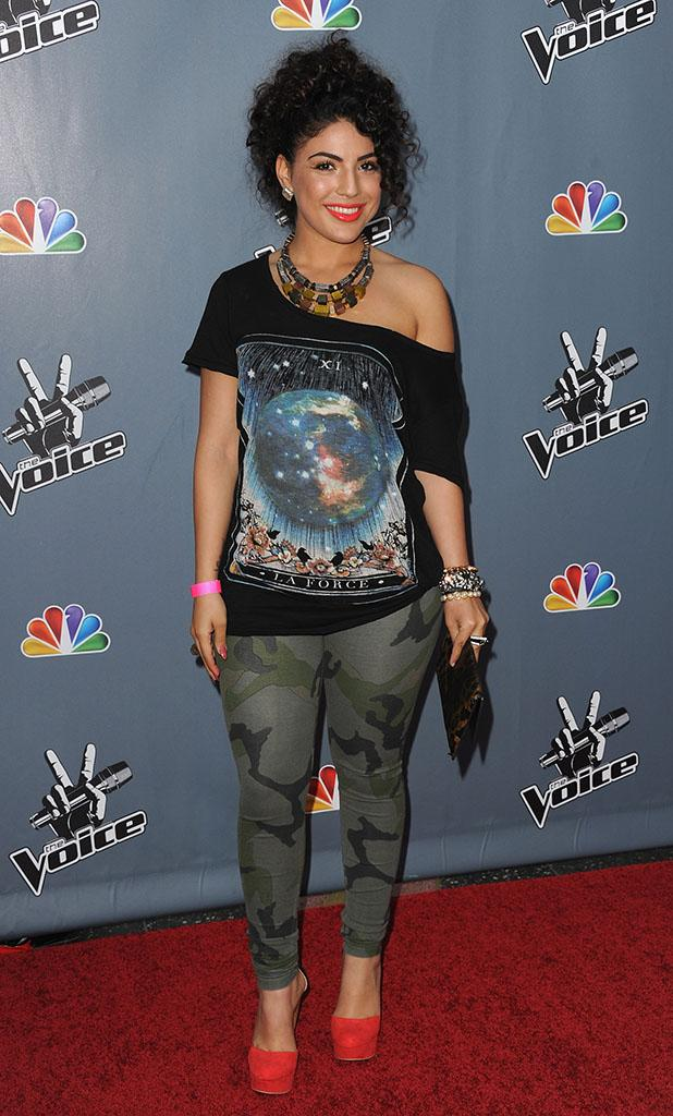 "Screening Of NBC's ""The Voice"" Season 4 - Arrivals"