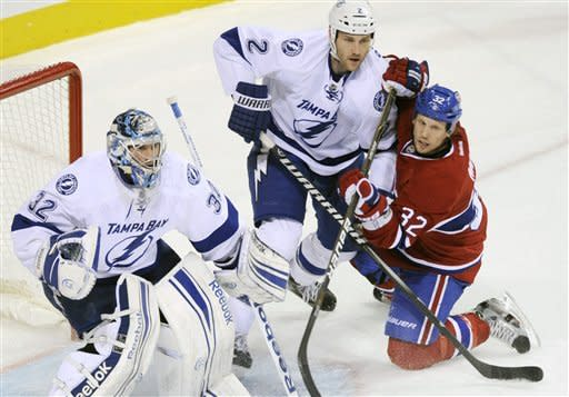 Canadiens beat Lightning 3-1 for 2nd straight win