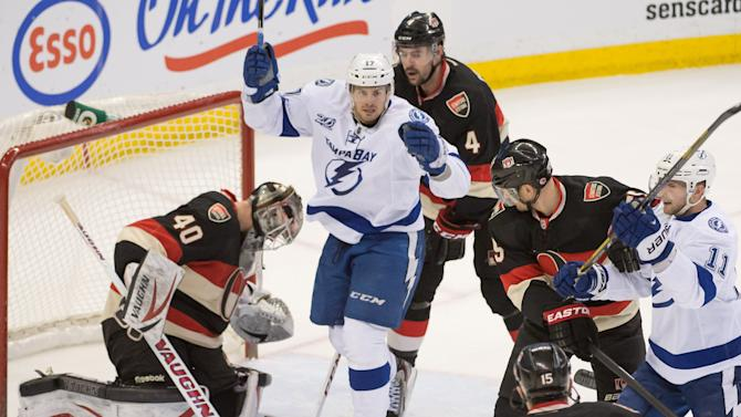 NHL: Tampa Bay Lightning at Ottawa Senators