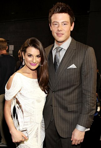 Cory Monteith Finally Confirms He's Dating Lea Michele