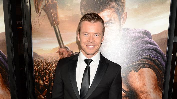 """Spartacus: War Of The Damned"" - Los Angeles Premiere - Red Carpet: Todd Lasance"