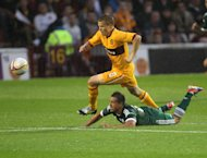 Henrik Ojamaa is happy with his progress at Motherwell despite the lack of goals