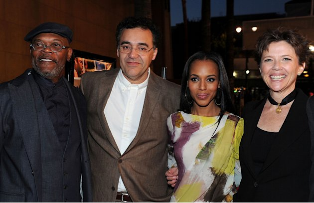 Mother and Child LA Premiere 2010 Samuel L. Jackson Rodrigo Garcia Kerry Washington Annette Bening