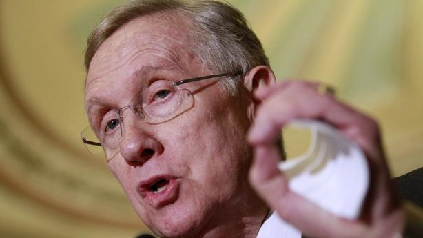 Harry Reid Says Someone Told Him What's in Romney's Taxes