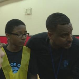 Former Net Jayson Williams Gives Back To Lower East Side Community