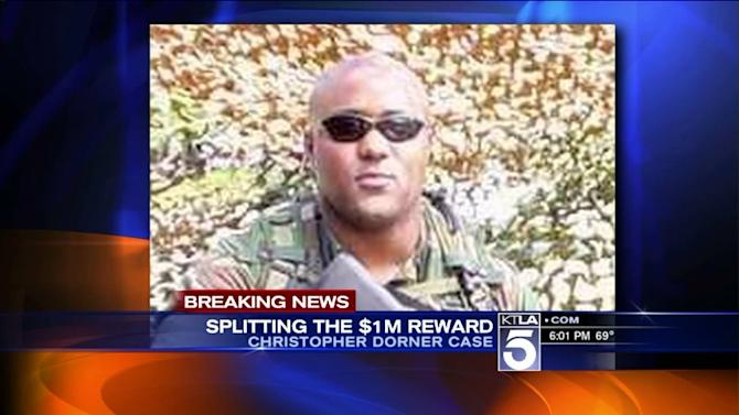 $1-Million Reward Split 3 Ways in Christopher Dorner Case