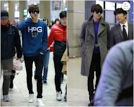 Lee Min Ho shows an amazing look at the airport