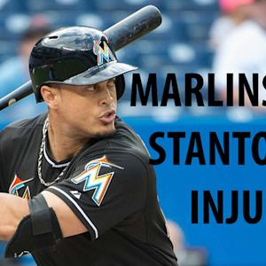 Marlins lose Giancarlo Stanton for 4-6 weeks with broken hand