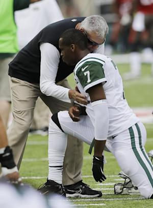 Geno Smith gets first taste of Jets-Pats rivalry