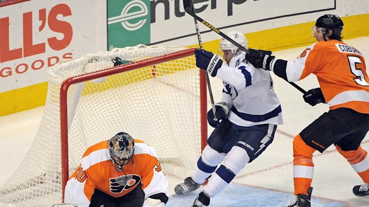 NHL: Tampa Bay Lightning at Philadelphia Flyers