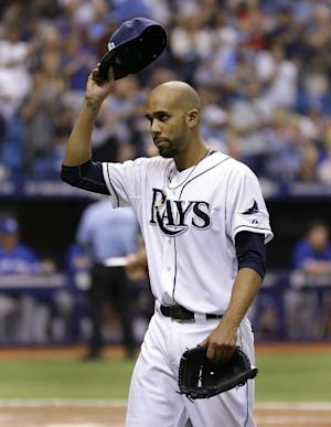 Price outpitches Dickey, Rays top Blue Jays 9-2