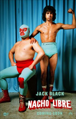 Jack Black and Hector Jimenez star in Paramount Pictures' Nacho Libre