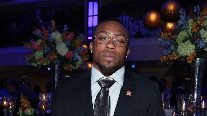 Eric Berry of the Kansas City Chiefs is seen at the VIP Reception hosted by the NFLPA, on Thursday, Jan. 31, 2013 in New Orleans. (Photo by Dario Cantatore/Invision for NFLPA/AP Images)