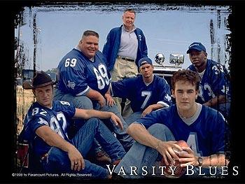 Scott Caan , Ron Lester , Jon Voight , Paul Walker , James Van Der Beek and Eliel Swinton in Varsity Blues