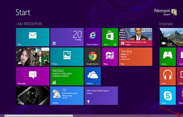 Windows 8\'s Modern UI and Start Screen