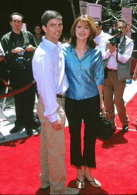 Premiere: Jane Leeves and husband at the Westwood premiere of 20th Century Fox's Star Wars: Episode I - The Phantom Menace - 5/16/1999
