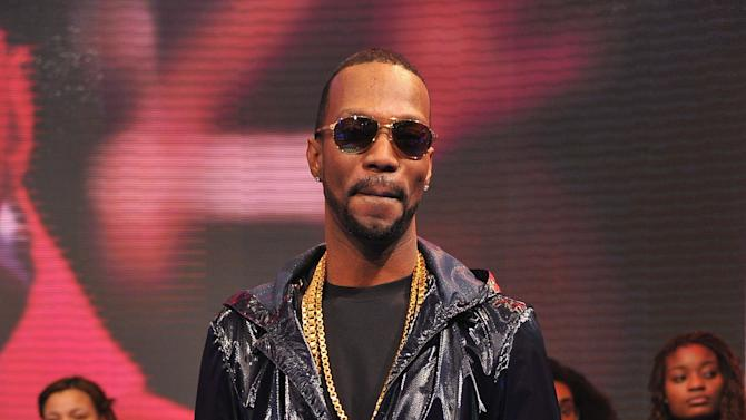 "Terrence Howard & Juicy J Visit BET's ""106 & Park"""
