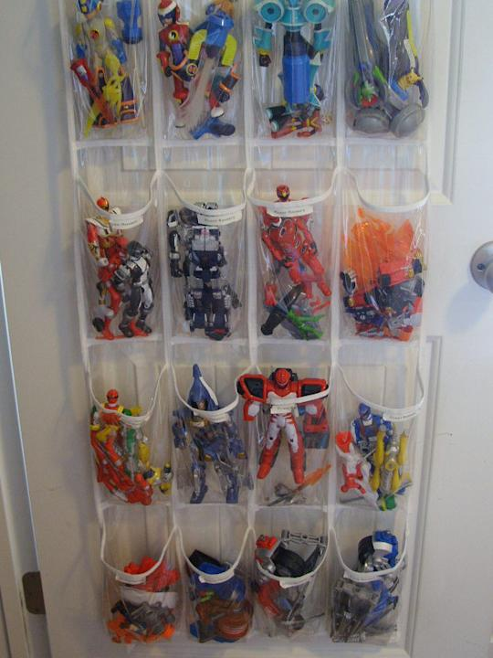 Shoe Organizer for Superheros