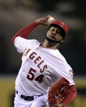 Angels beat White Sox 6-2 behind Santana