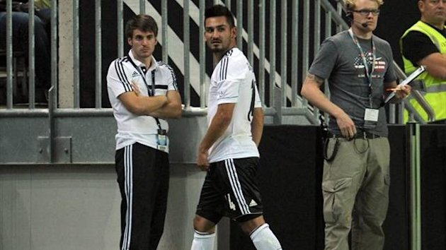 Ilkay Guendogan in action for Germany (Imago)