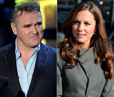 Morrissey, British Singer, Blames Pregnant Kate Middleton for Nurse's Suicide
