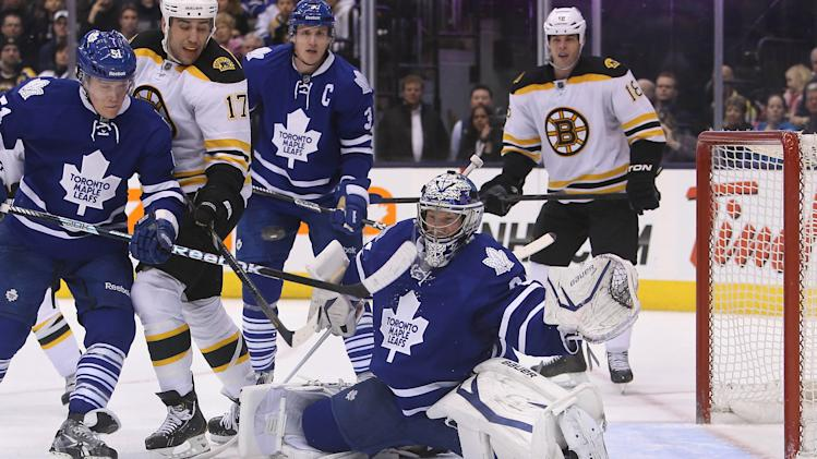 NHL: Boston Bruins at Toronto Maple Leafs